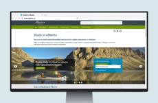 Study in Alberta: Website